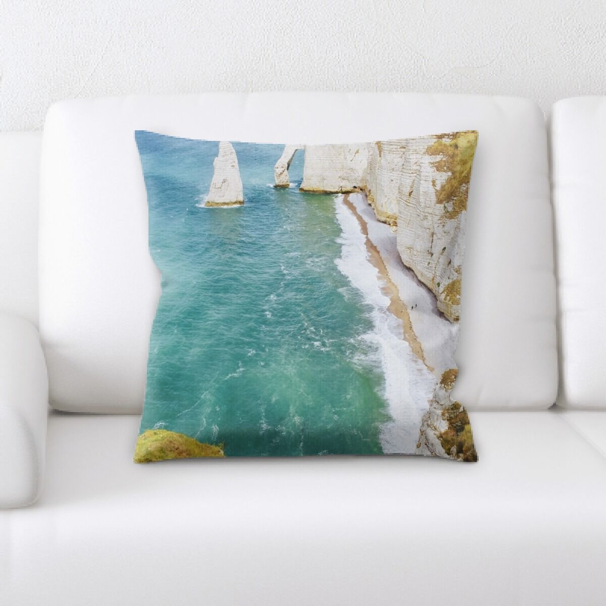 Edie Mountain and Cliffs (82) Throw Pillow