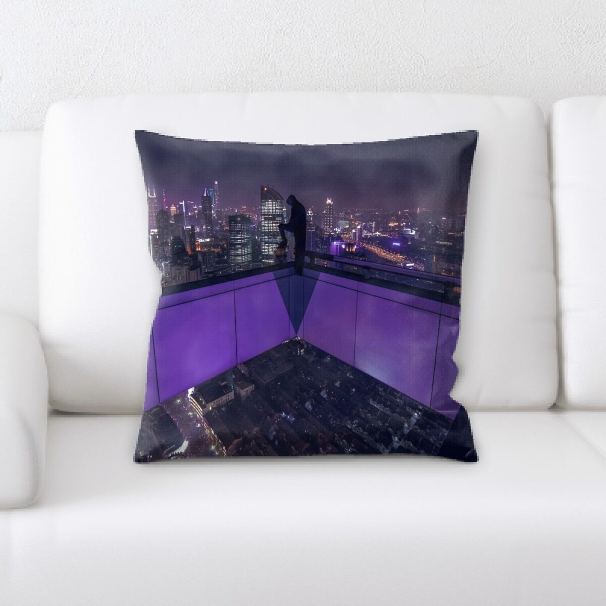 Portrait Style Photography (377) Throw Pillow