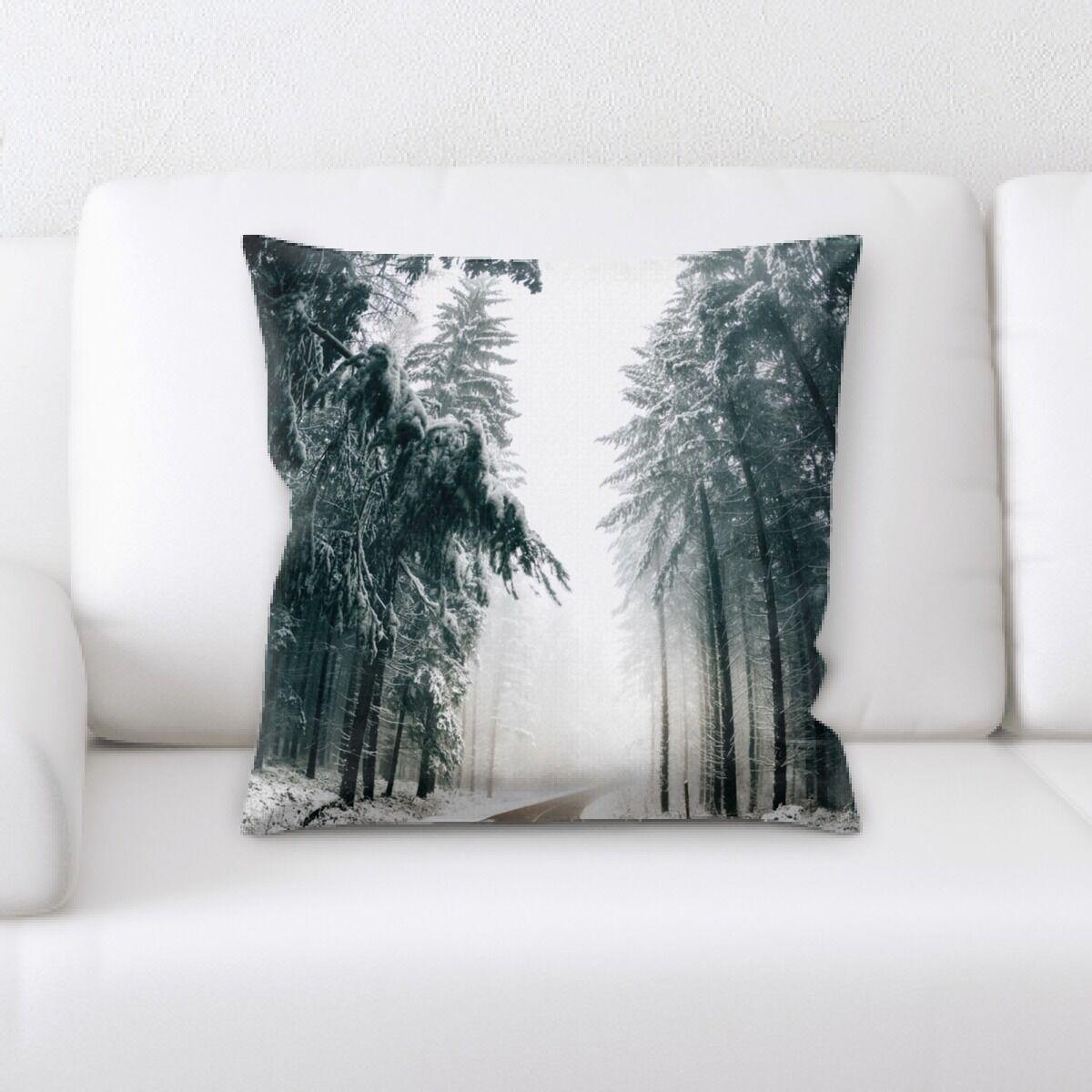 Land (33) Throw Pillow