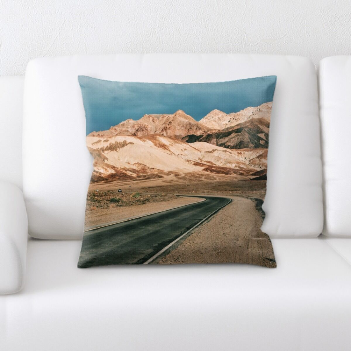 Land (36) Throw Pillow