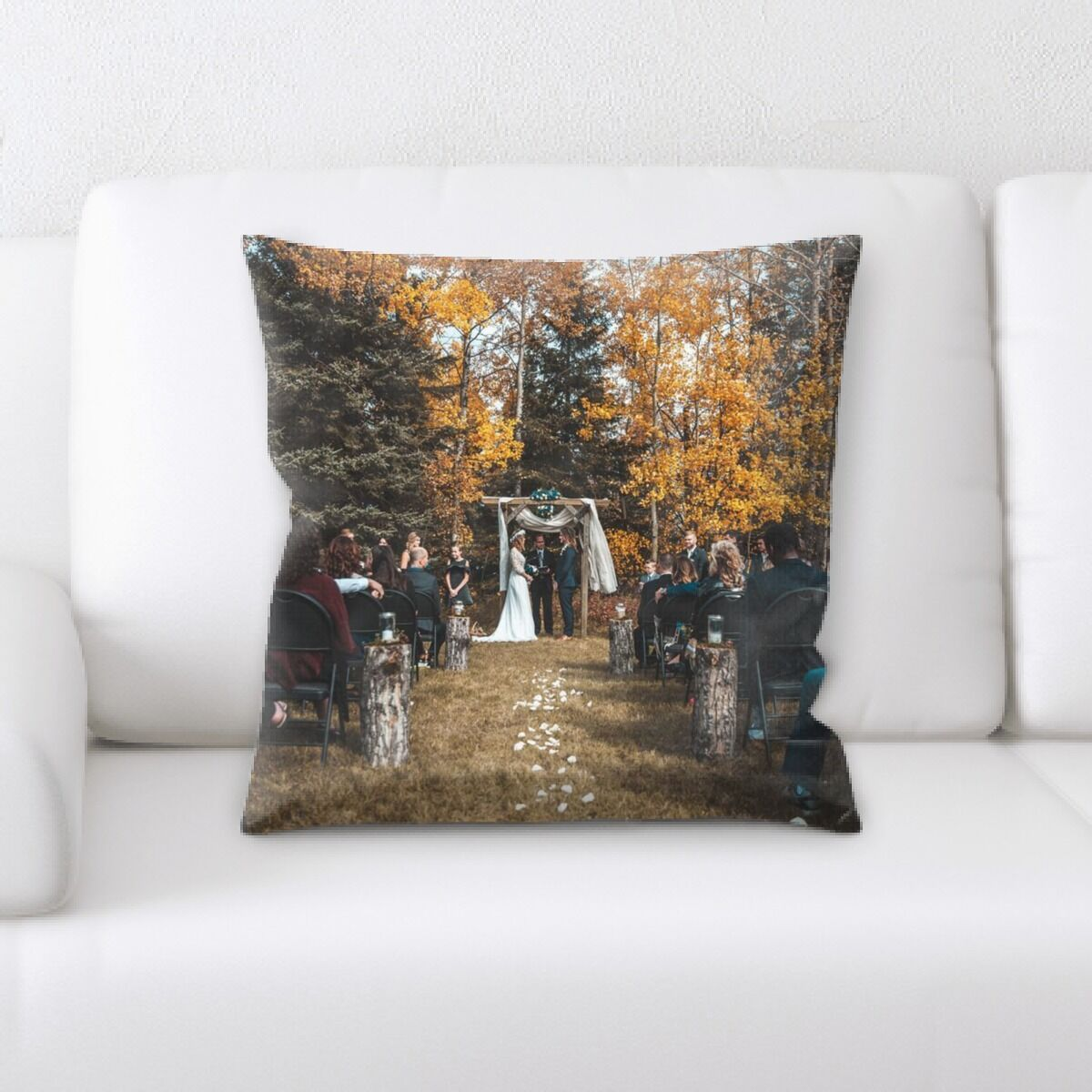 Portrait Style Photography (487) Throw Pillow
