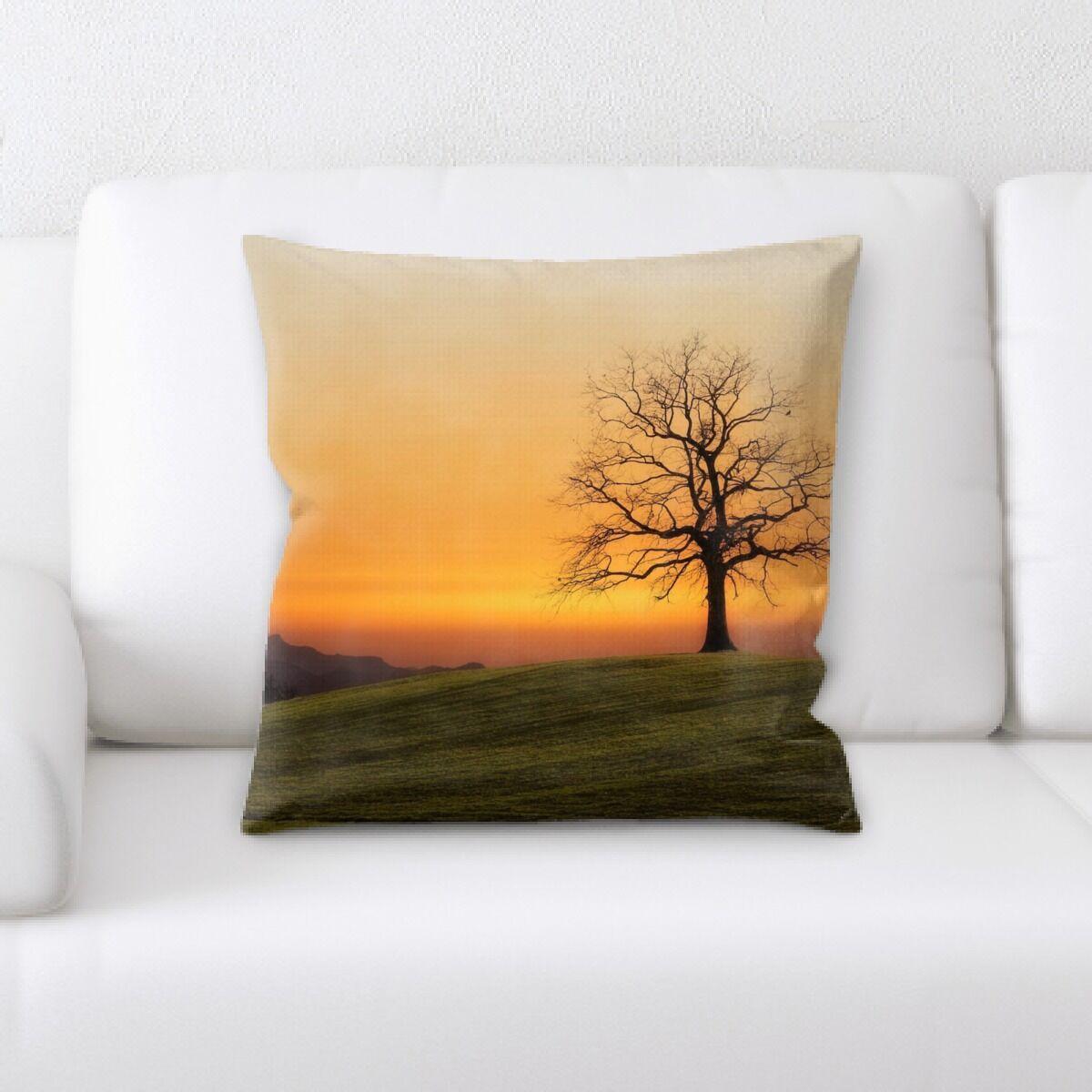 Land (44) Throw Pillow