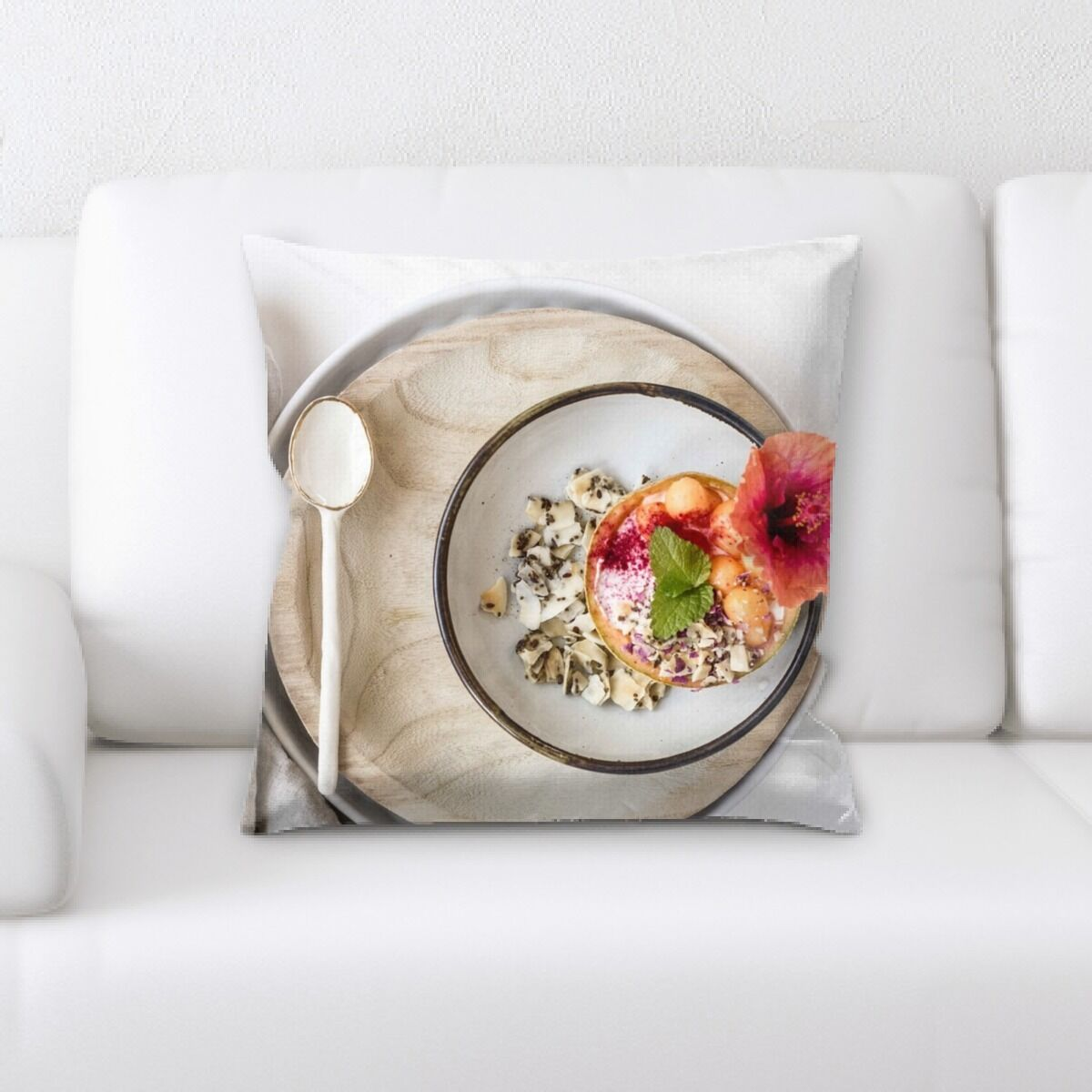 Portrait Style Photography (490) Throw Pillow