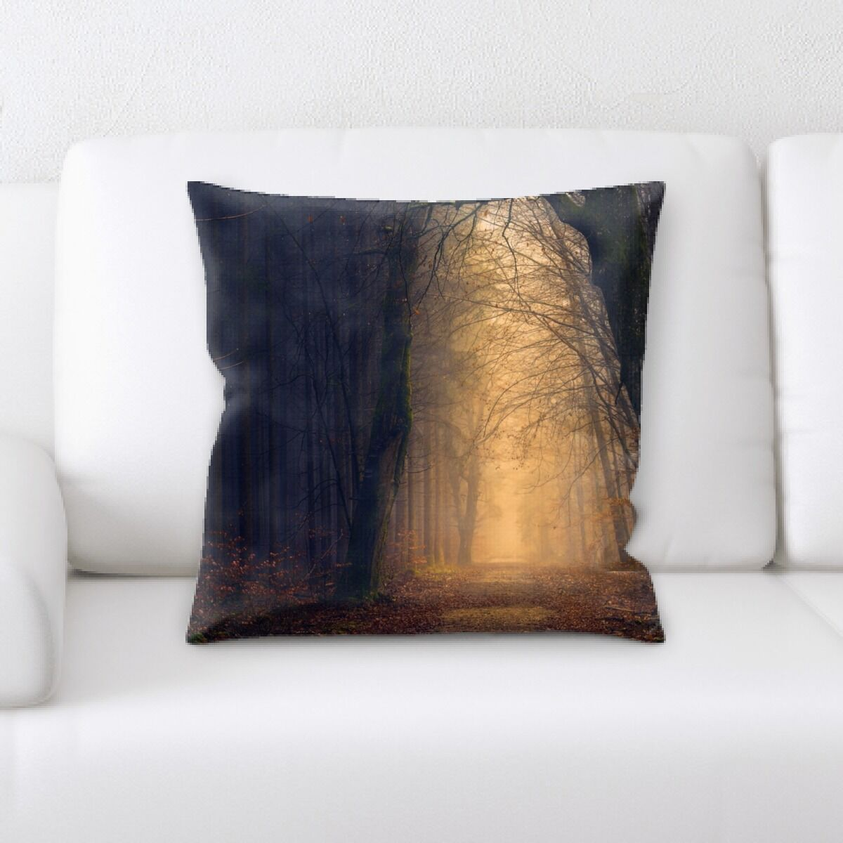 Land (46) Throw Pillow