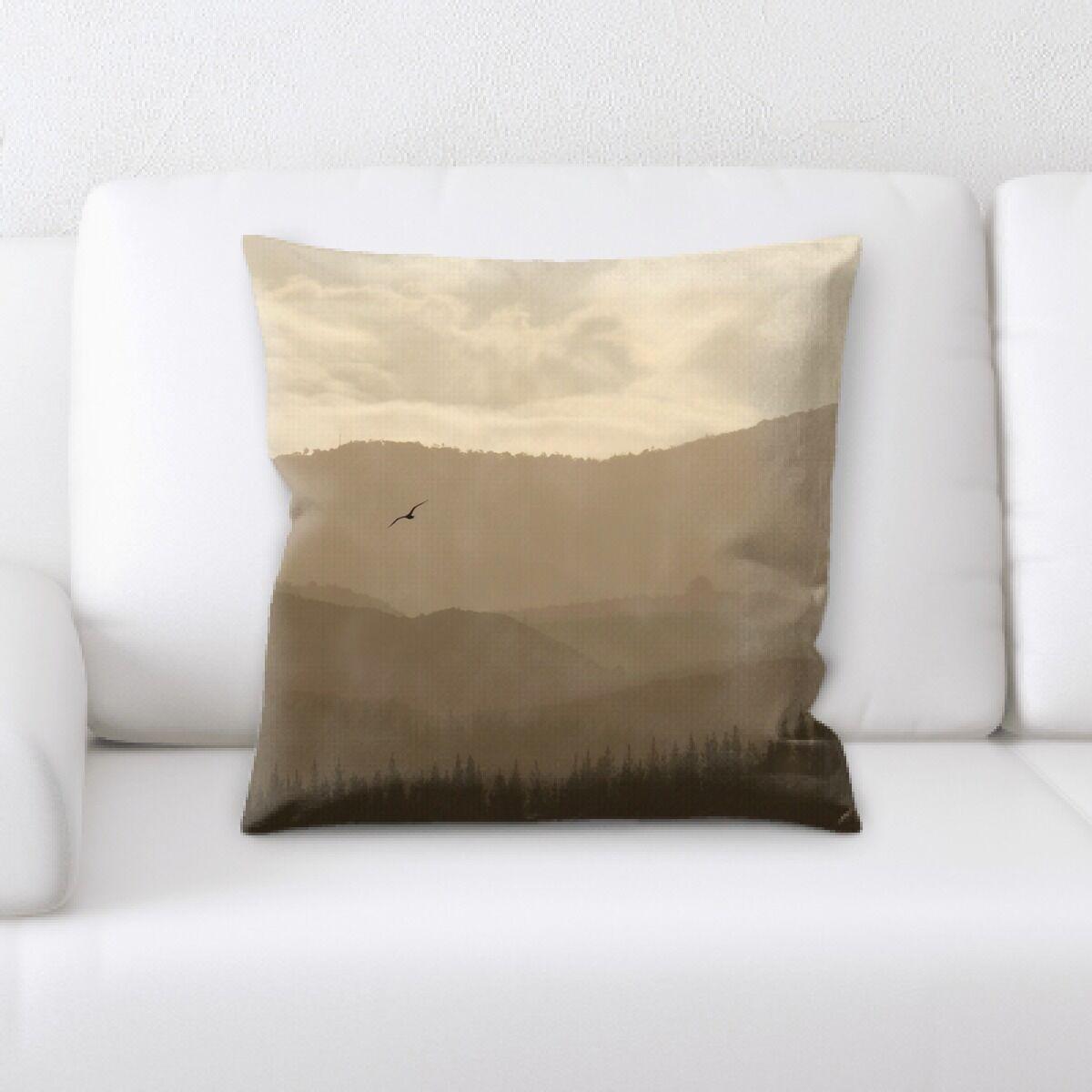 Land (3) Throw Pillow