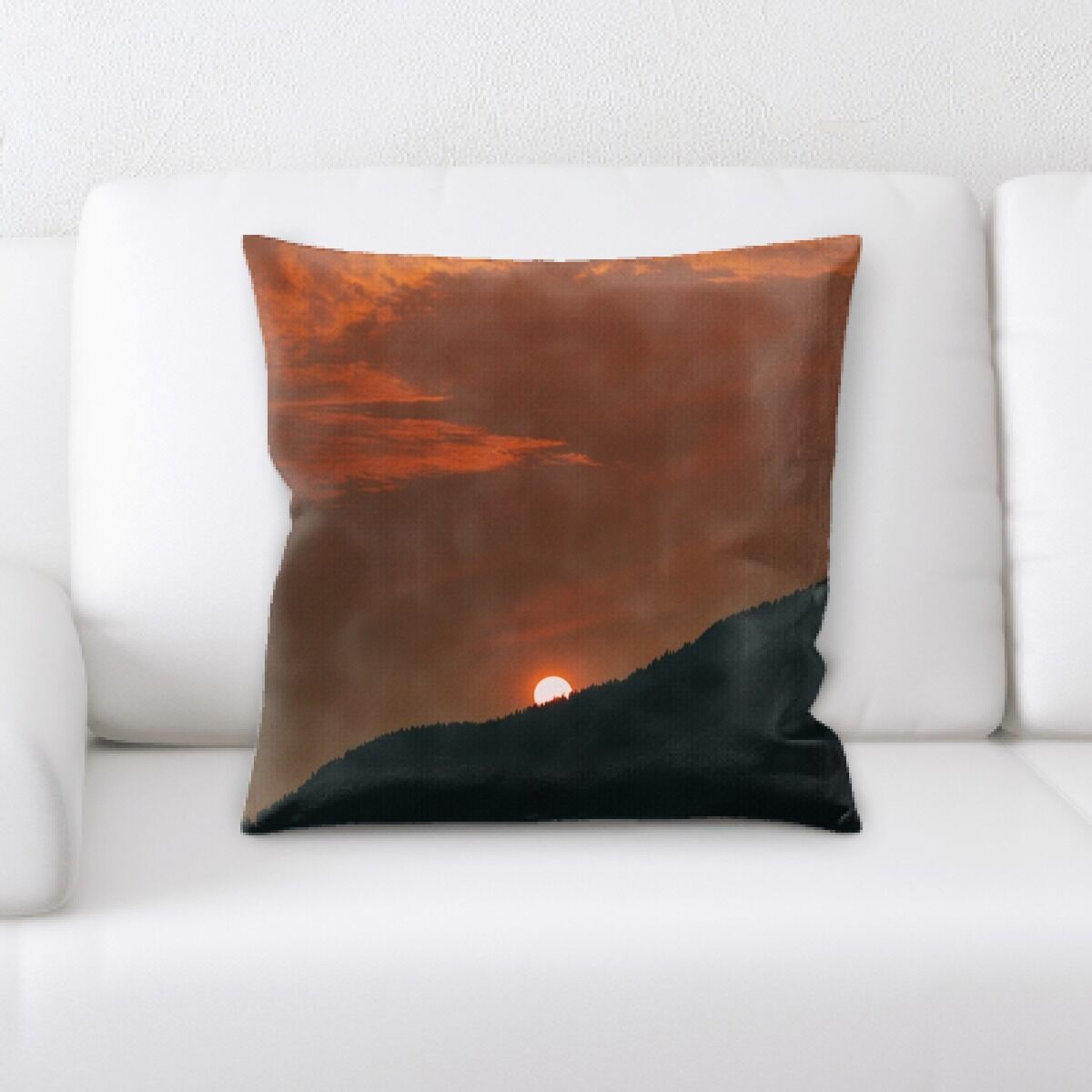 Portrait Style Photography (434) Throw Pillow