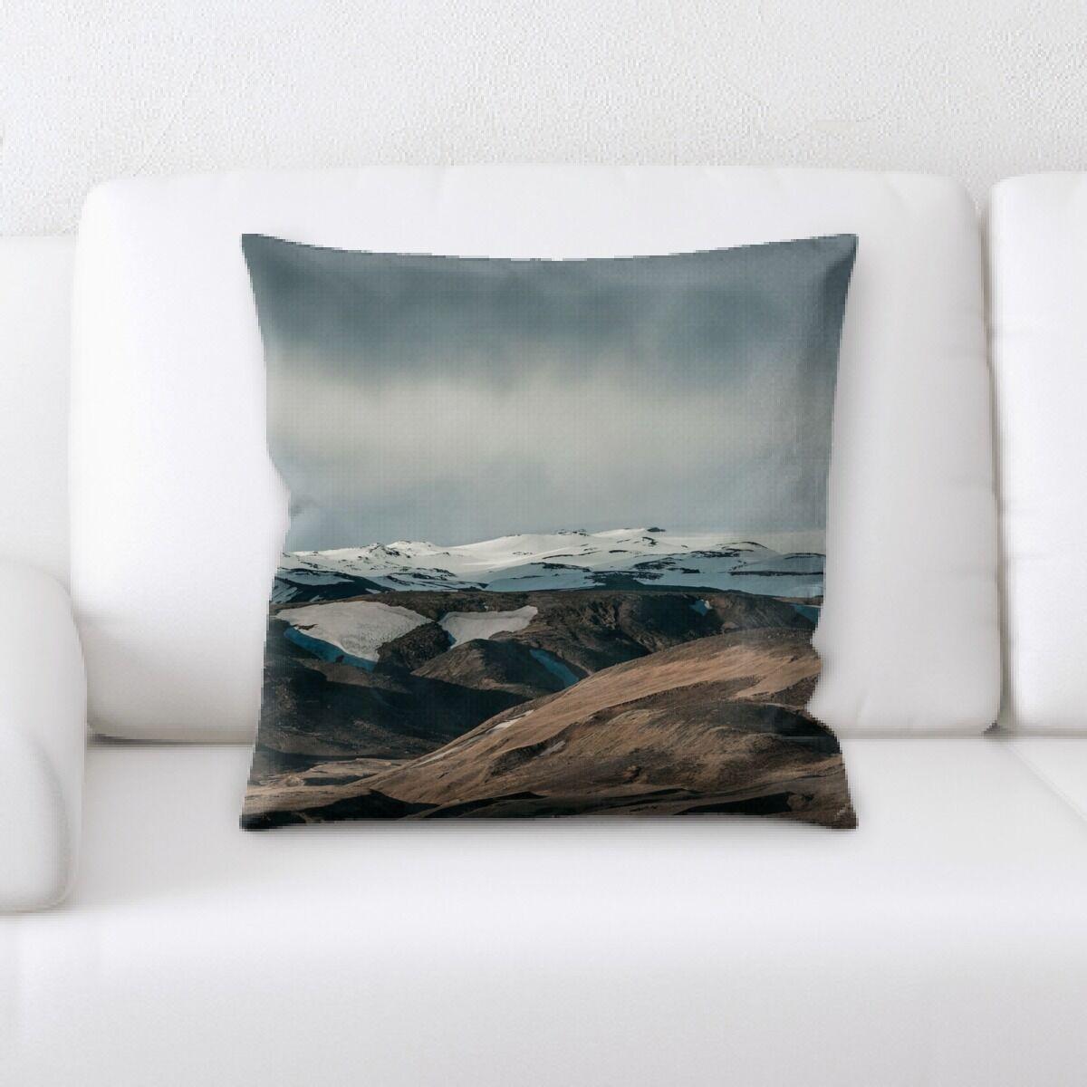 Land (59) Throw Pillow