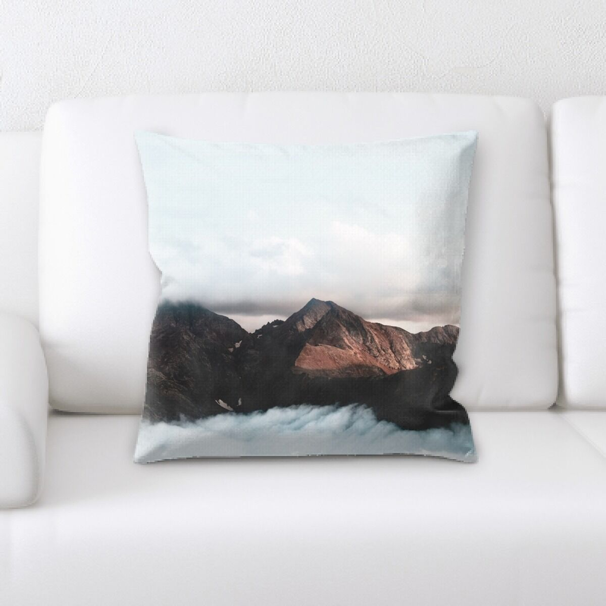 Portrait Style Photography (438) Throw Pillow