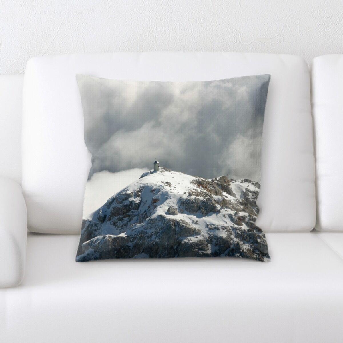 Land (24) Throw Pillow