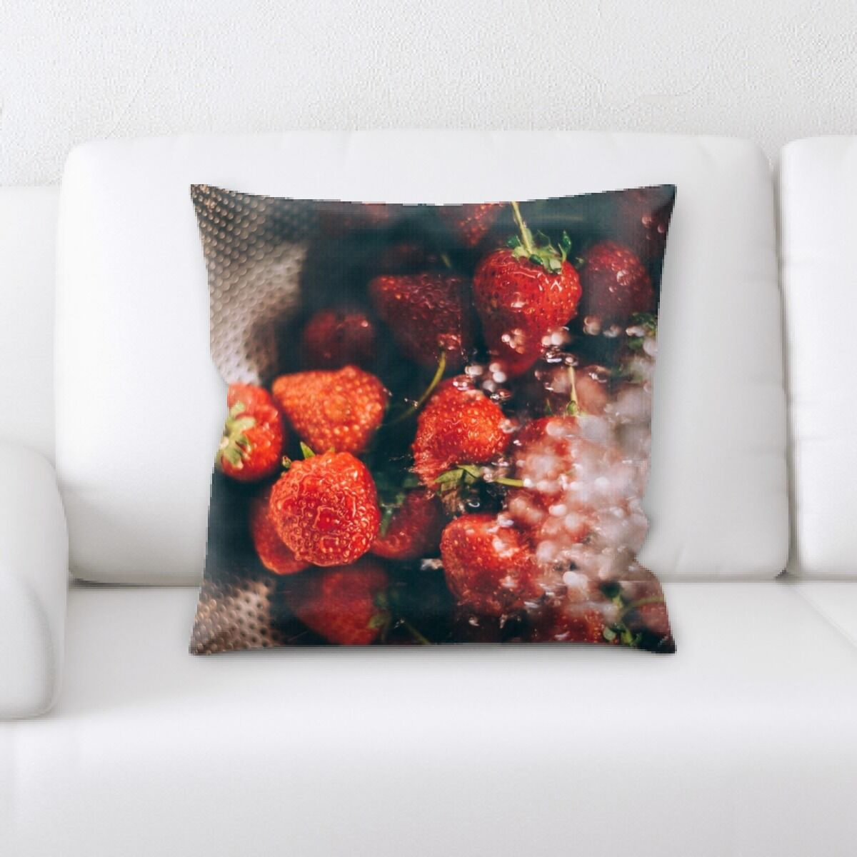 Portrait Style Photography (449) Throw Pillow