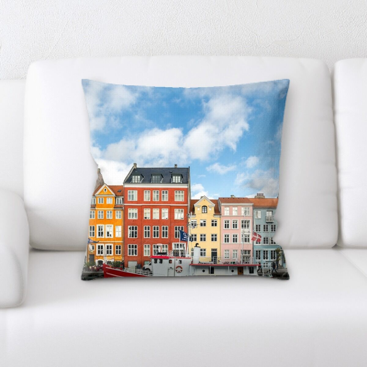 Landis (572) Throw Pillow
