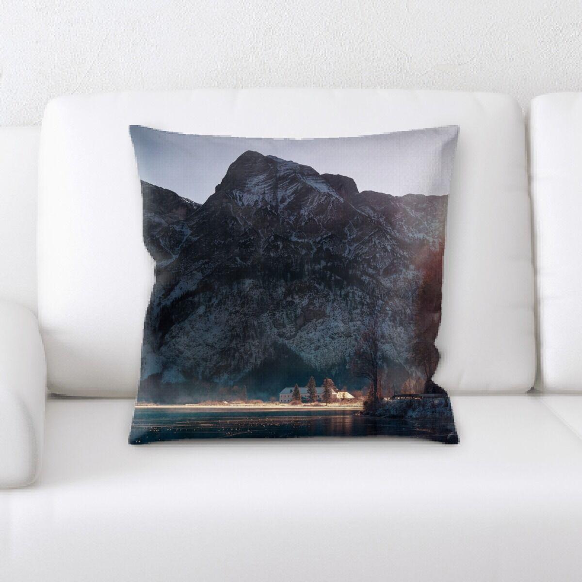 Land (77) Throw Pillow