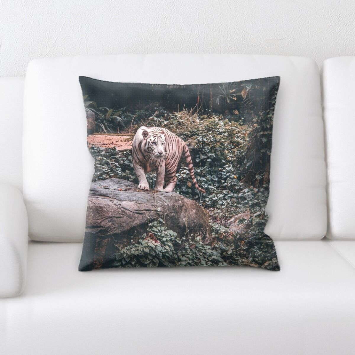 Landis (612) Throw Pillow