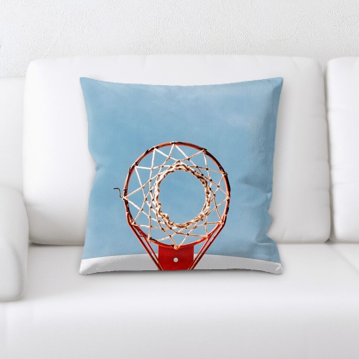 Latham Net (13) Throw Pillow