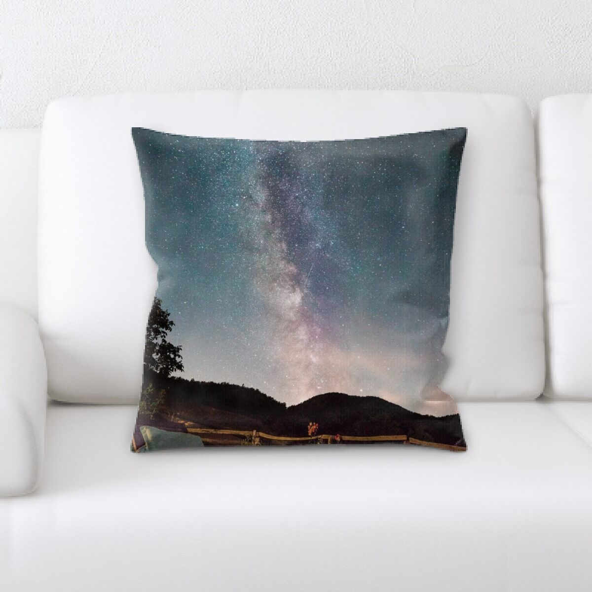 Landis (522) Throw Pillow
