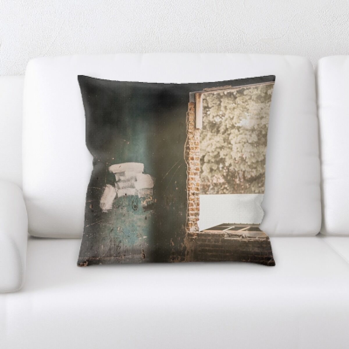 Lower Old and Abandoned (13) Throw Pillow