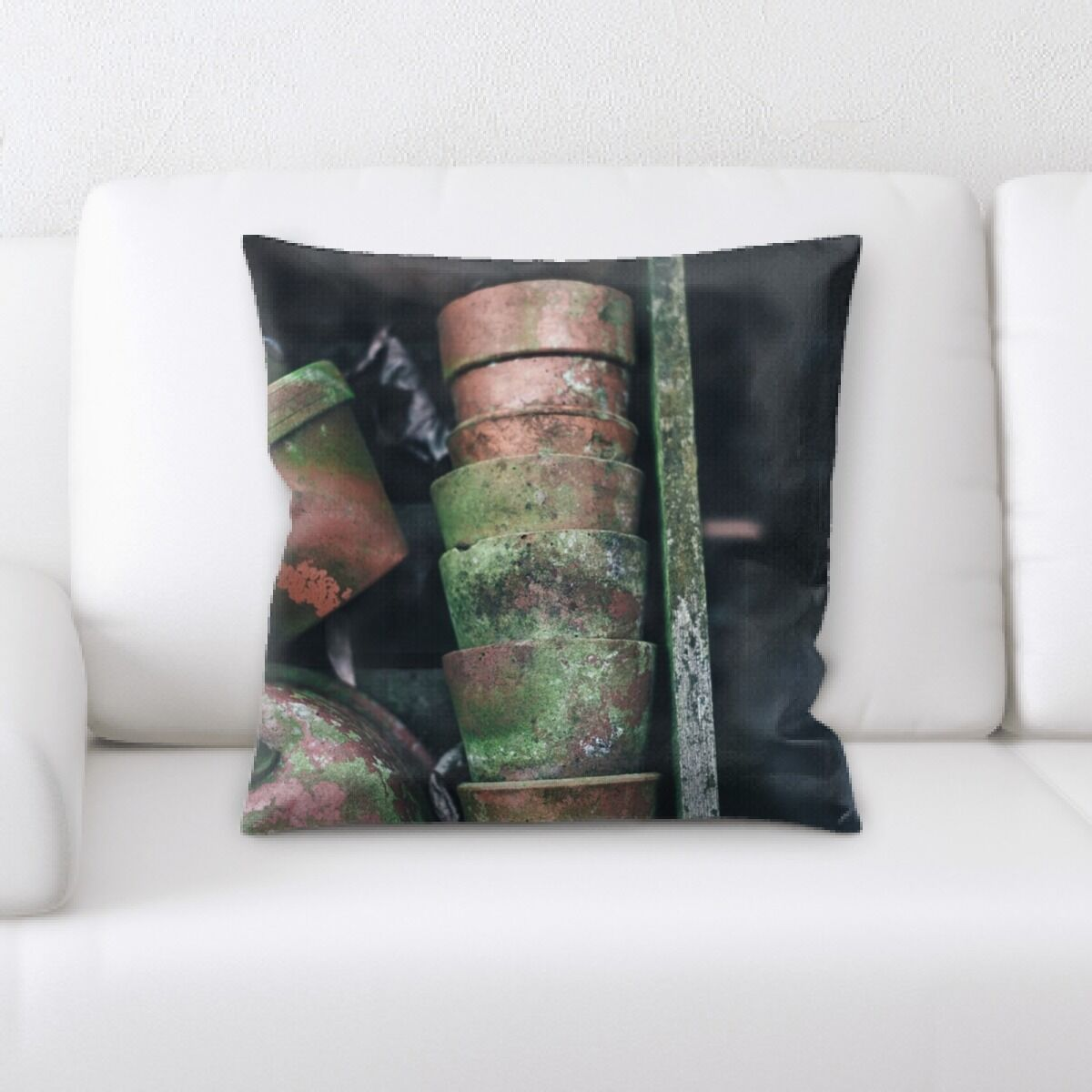 Lunado Old and Abandoned (16) Throw Pillow