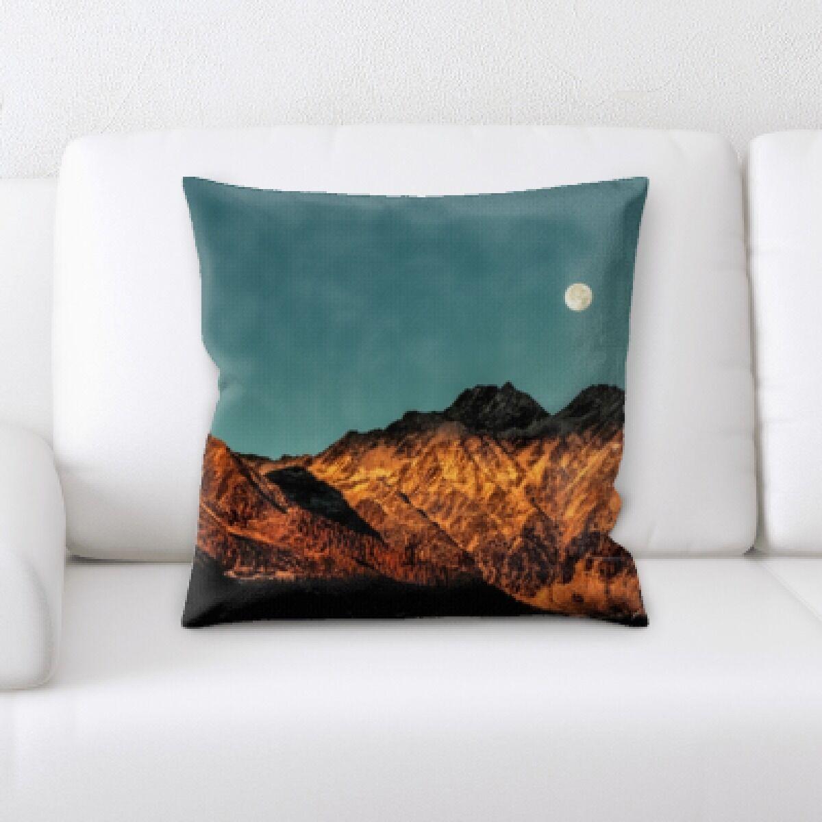 Gibb Desert (2) Throw Pillow