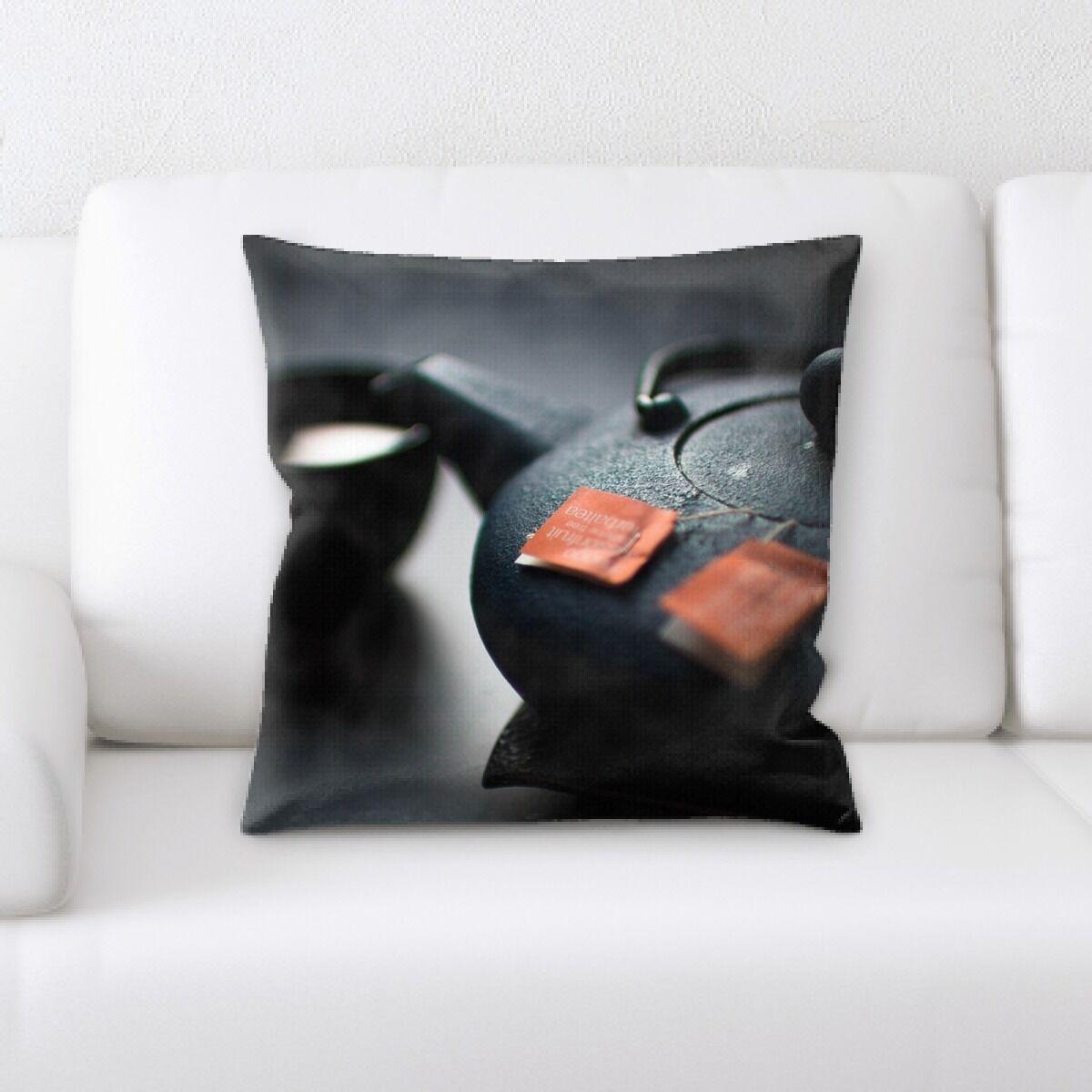 Fuentes Restaurant & Cafe Life Style (60) Throw Pillow