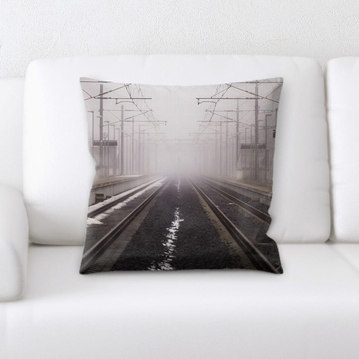 Swain Railroad (2) Throw Pillow