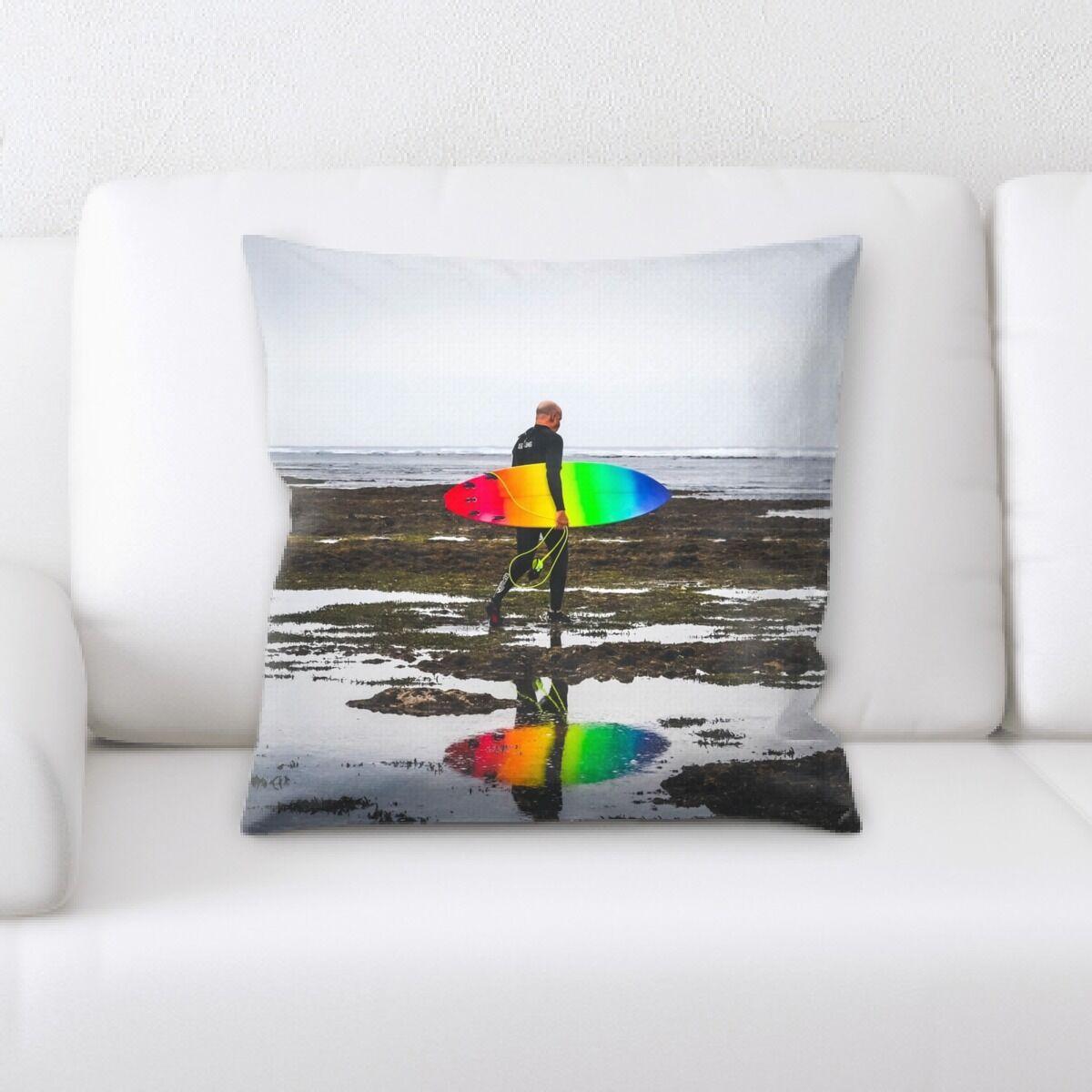 Rainbow (38) Throw Pillow