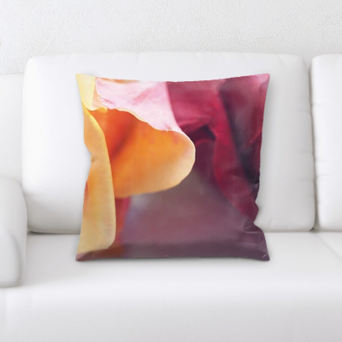 Pennsylvania Rose Throw Pillow