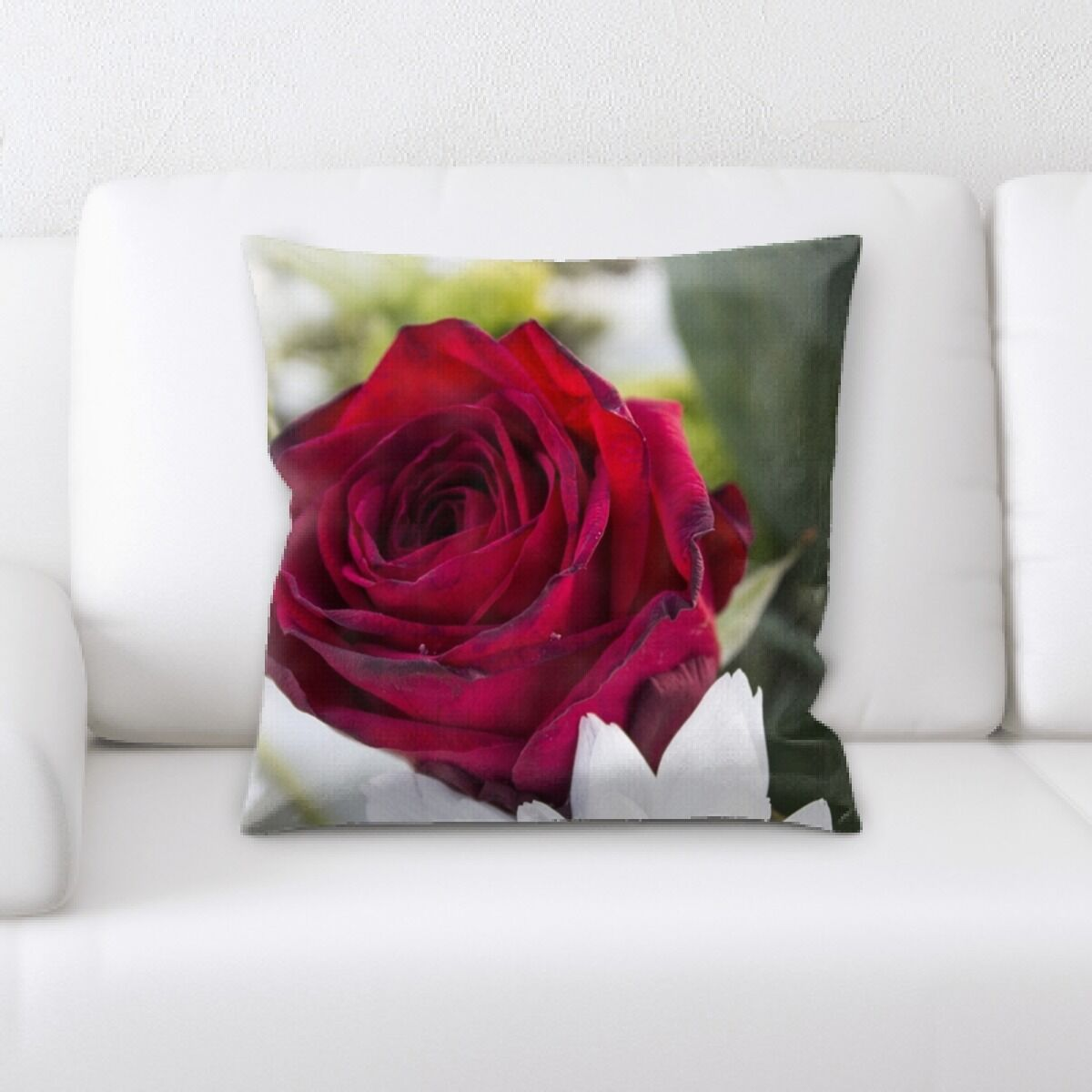 Perao Rose 3 Throw Pillow