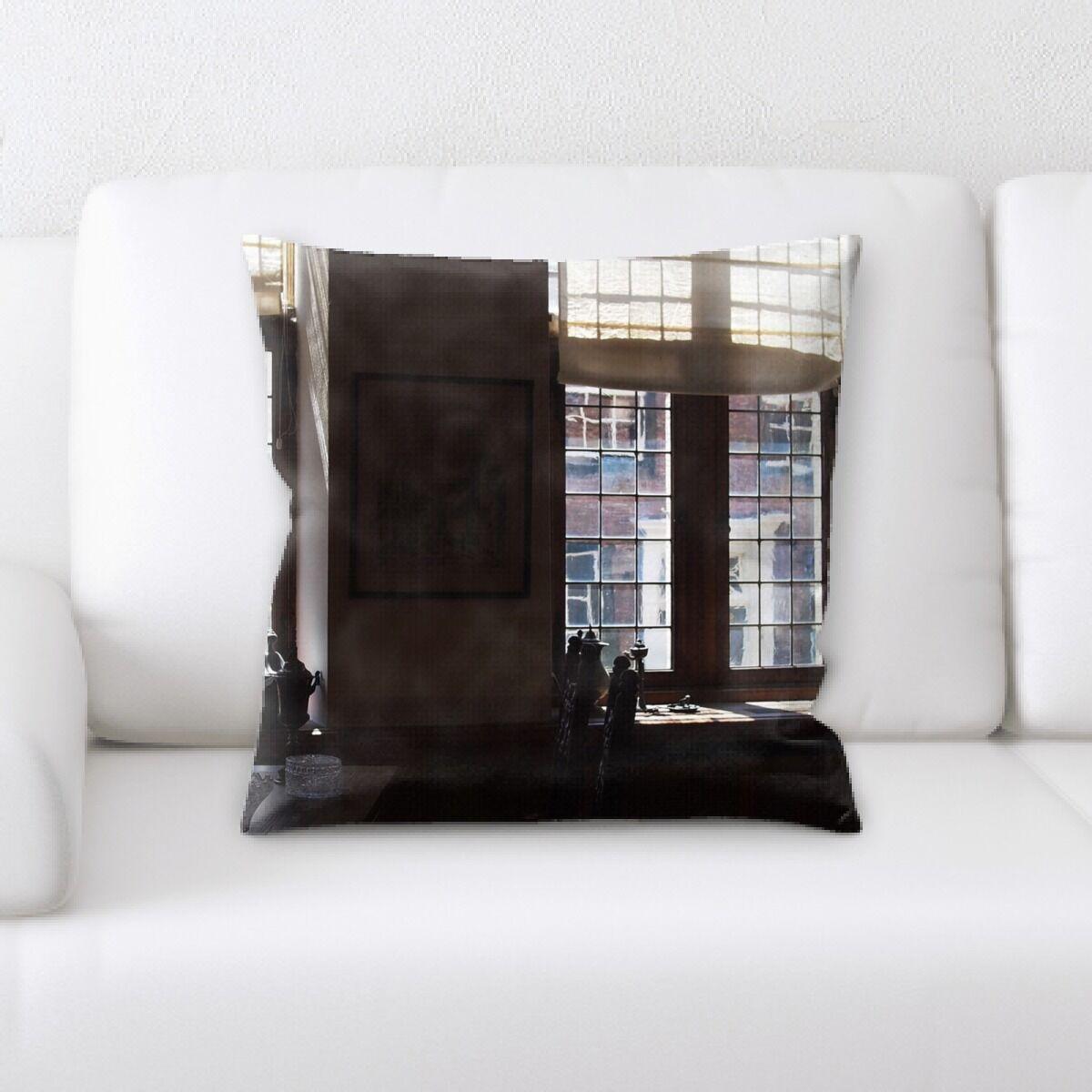 Gleason Restaurant & Cafe Life Style (69) Throw Pillow