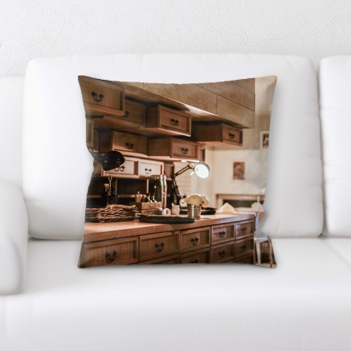 Goss Restaurant & Cafe Life Style (82) Throw Pillow
