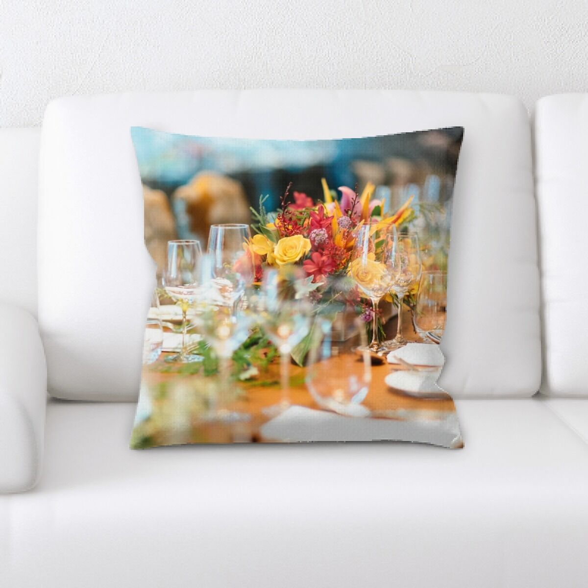 Veans Restaurant & Cafe Life Style (43) Throw Pillow