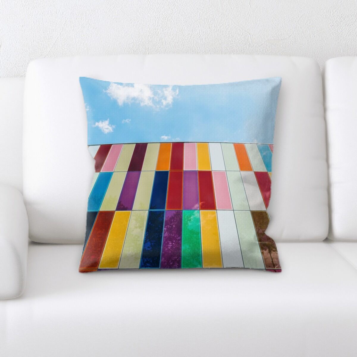 Rainbow (63) Throw Pillow