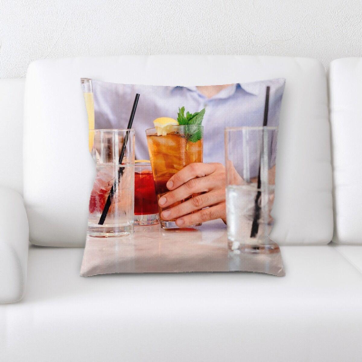 Corbett Restaurant & Cafe Life Style (96) Throw Pillow