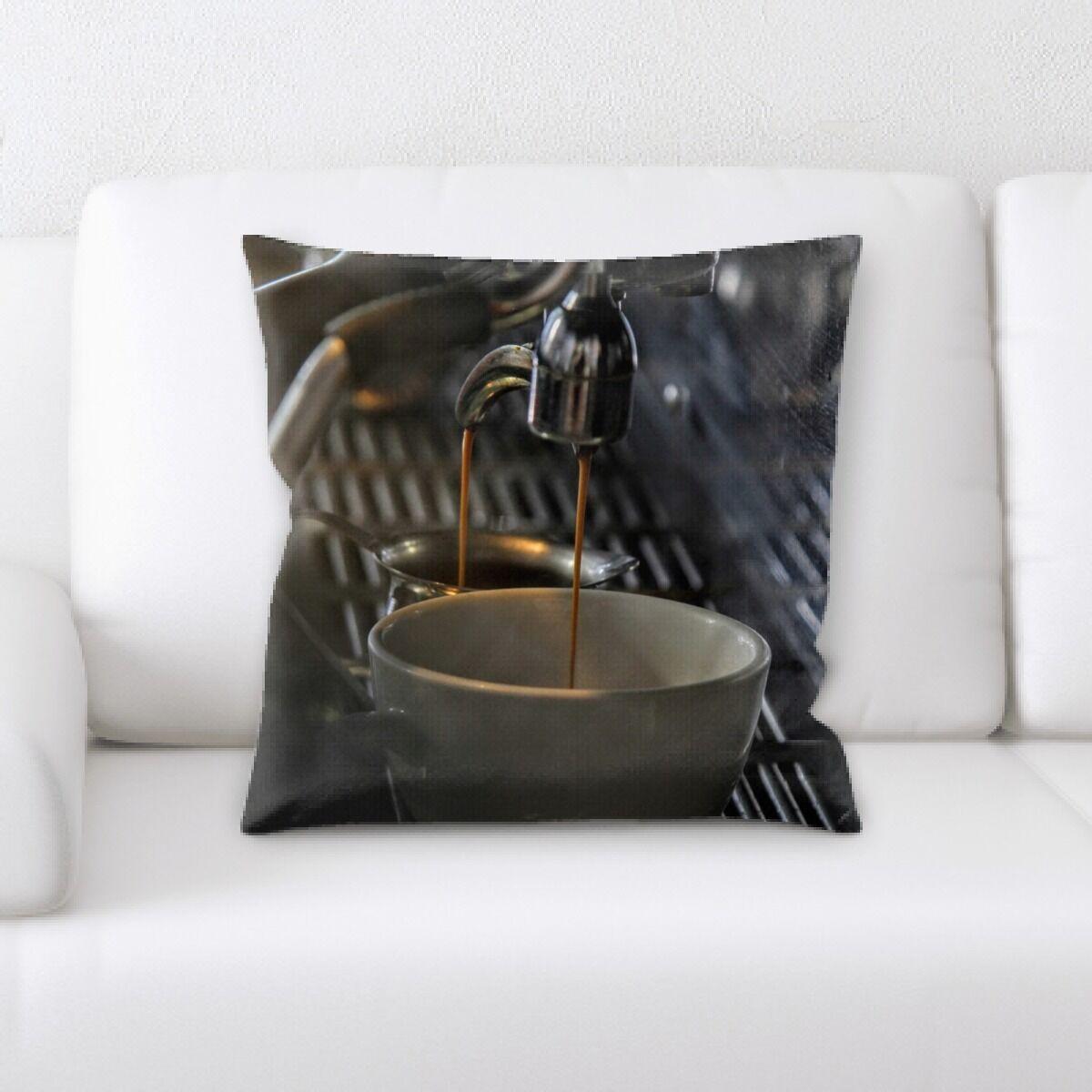 Corcoran Restaurant & Cafe Life Style (97) Throw Pillow