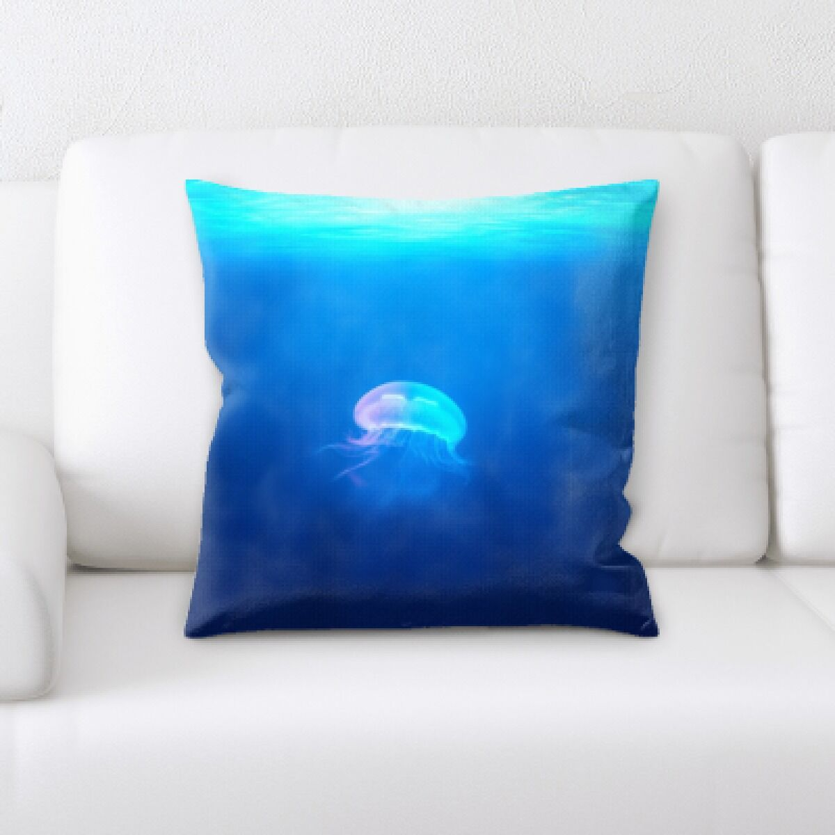 Alhambra Sea Jelly (81) Throw Pillow