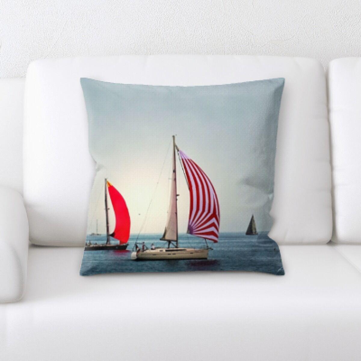 Natalia Sail (1) Throw Pillow