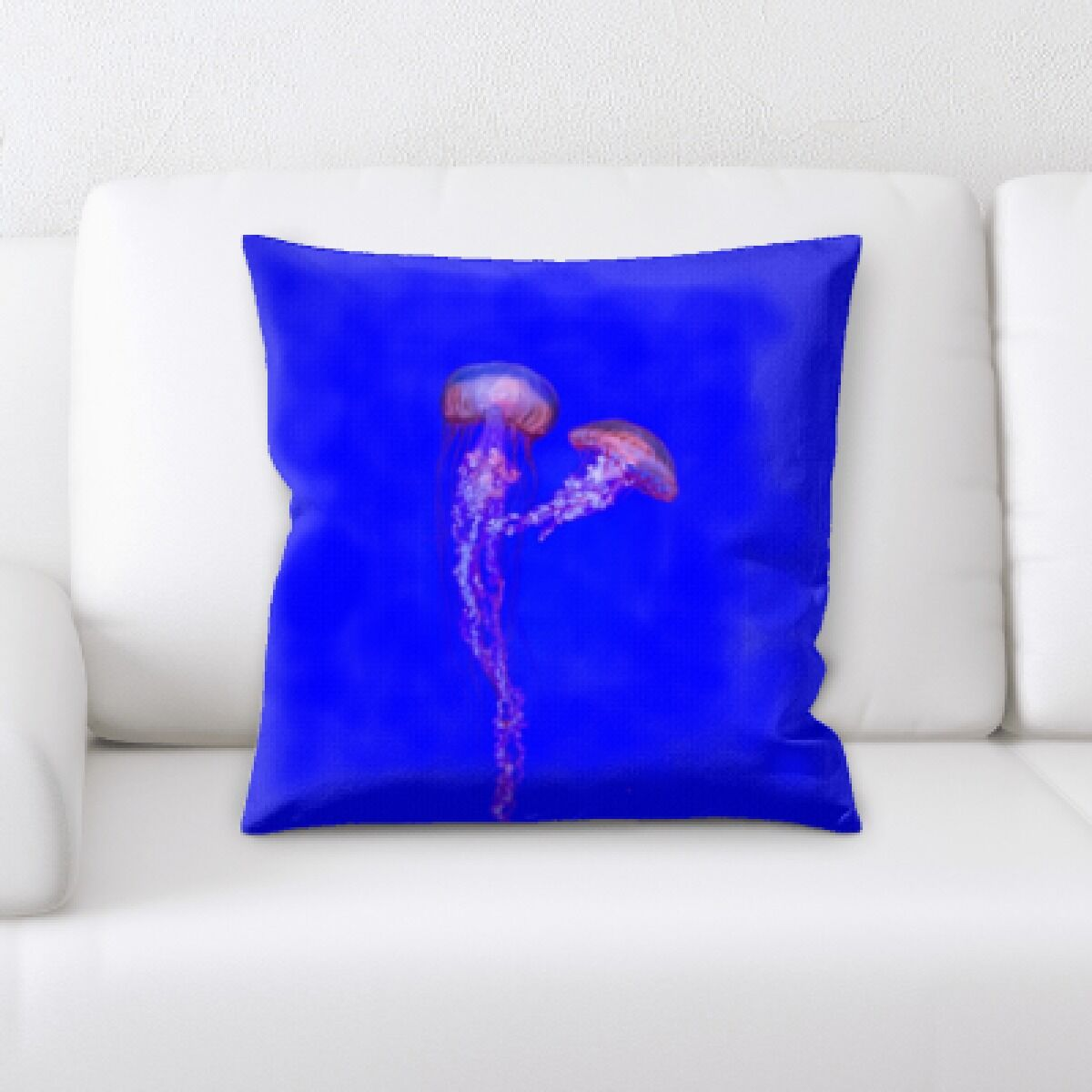 Alhambra Sea Jelly (30) Throw Pillow