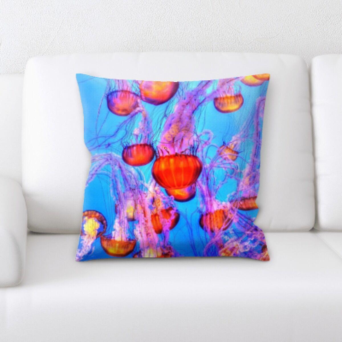 Alhambra Sea Jelly (31) Throw Pillow