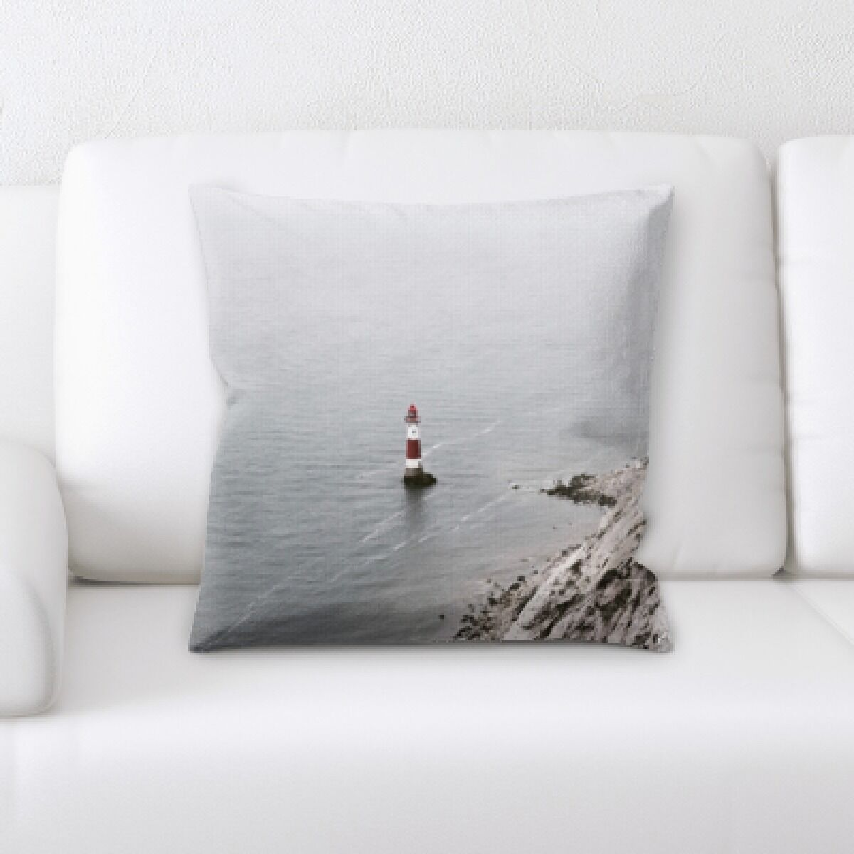 Aquin The Great Sea (201) Throw Pillow