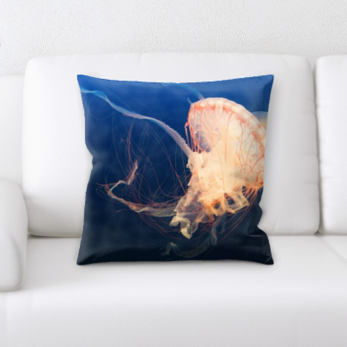 Alhambra Sea Jelly (38) Throw Pillow