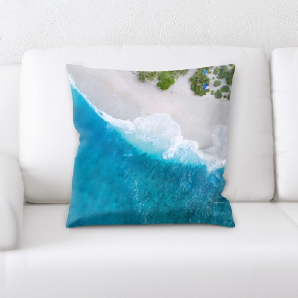 Timothy The Great Sea (212) Throw Pillow