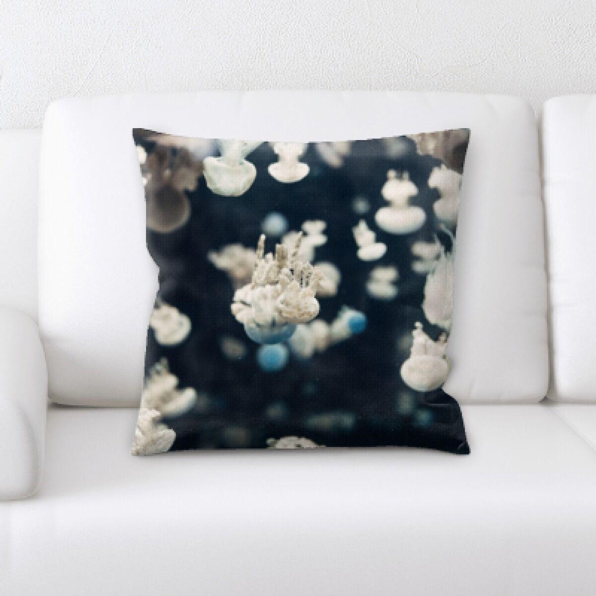 Alhambra Sea Jelly (48) Throw Pillow