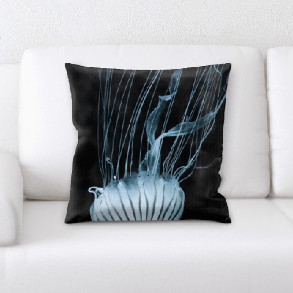Alhambra Sea Jelly (9) Throw Pillow