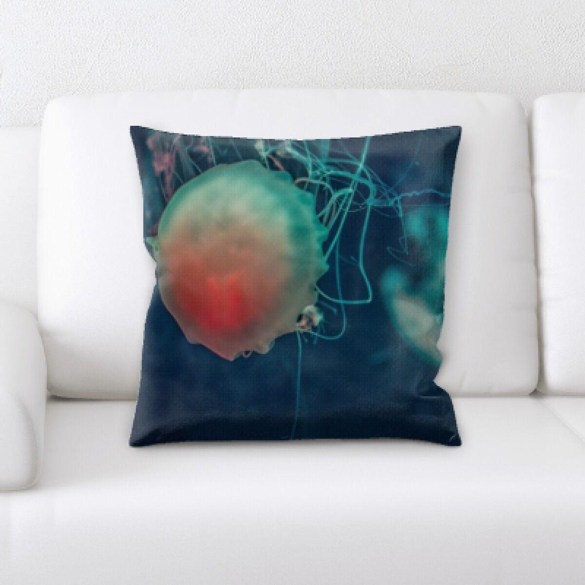 Alhambra Sea Jelly (15) Throw Pillow