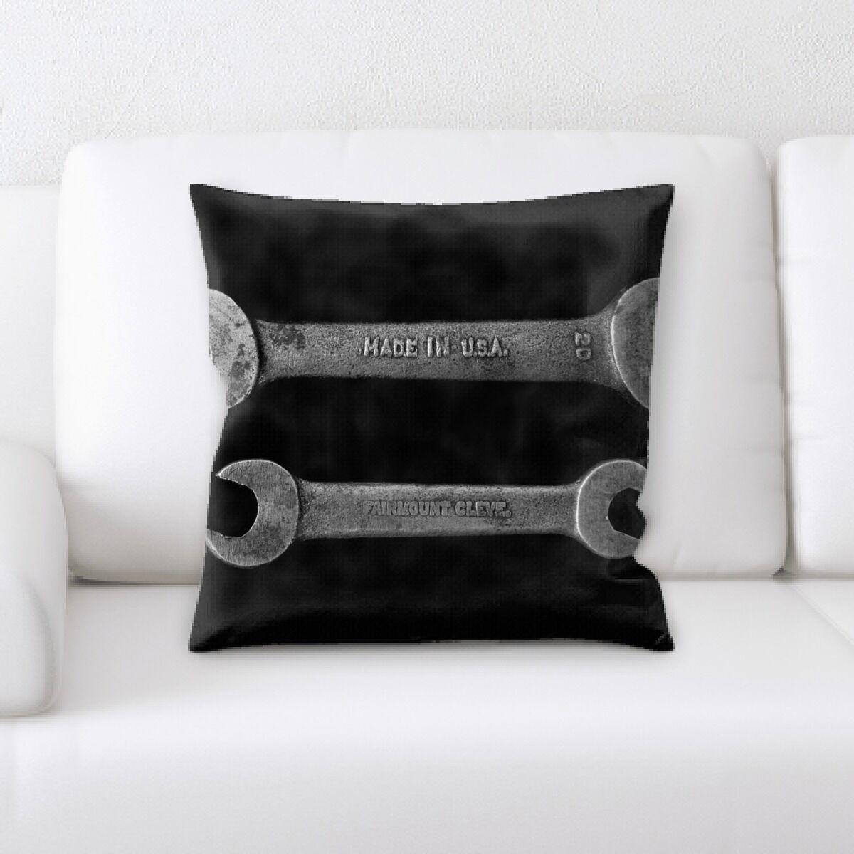 Langston (70) Throw Pillow