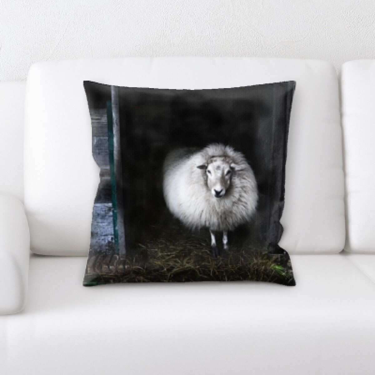 Laws Sheep (29) Throw Pillow