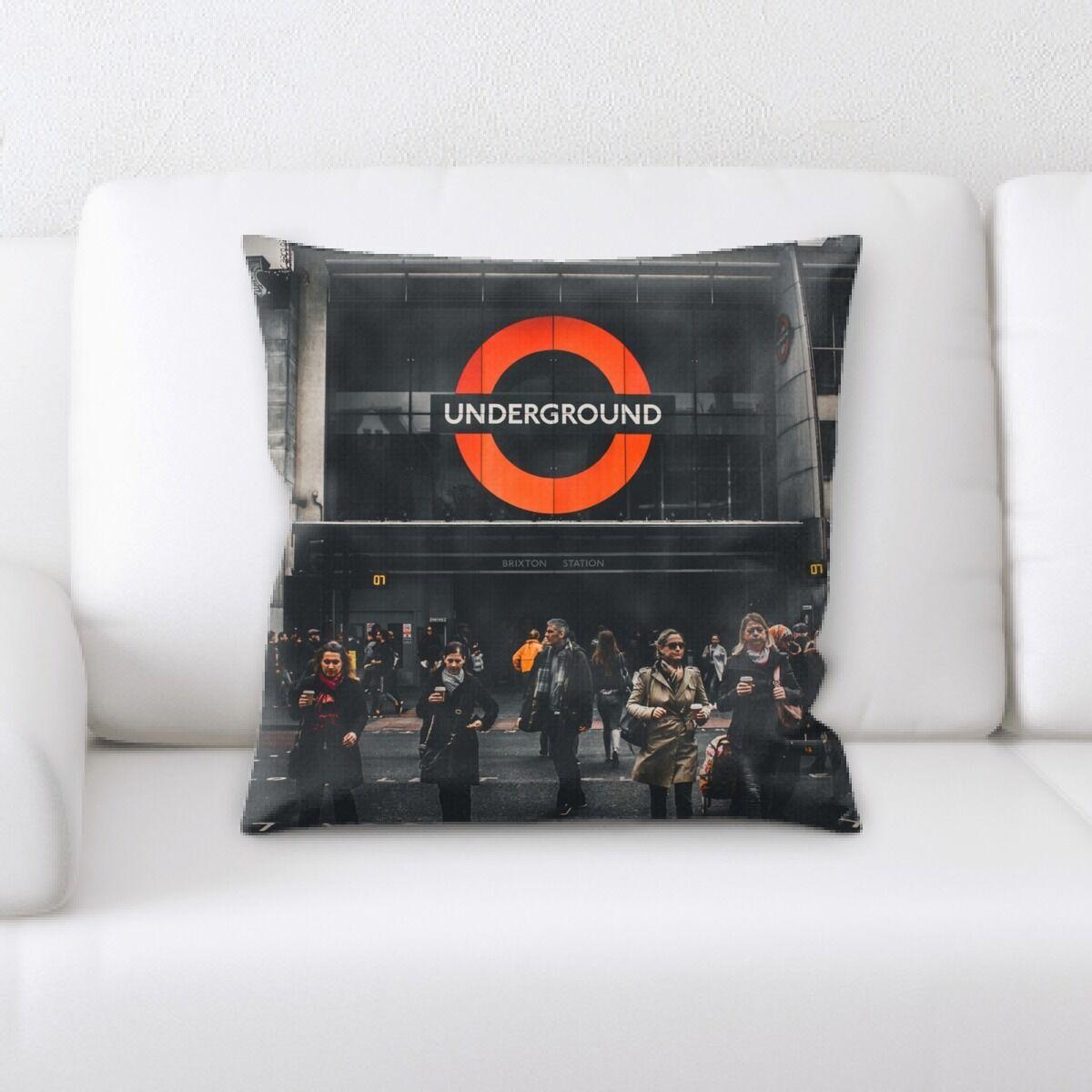 Train Experience (109) Throw Pillow