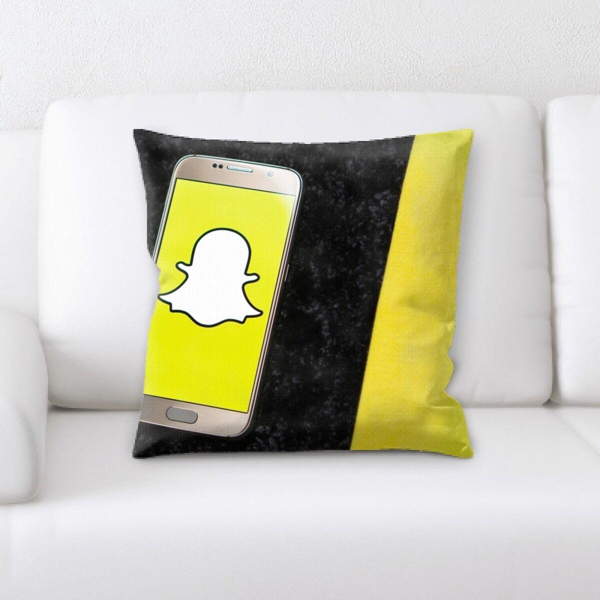 Tang Snapchat (3) Throw Pillow