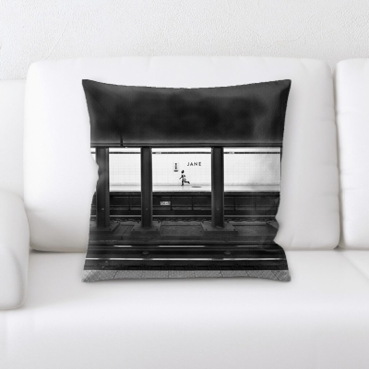 Lam (123) Throw Pillow