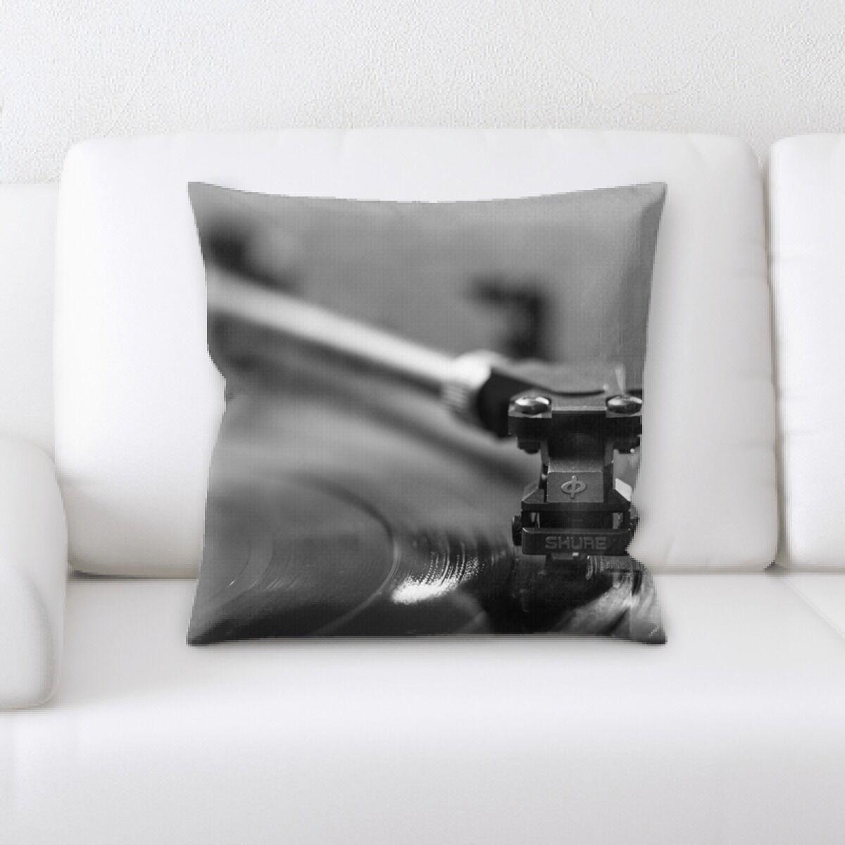 Polk Turntable (3) Throw Pillow