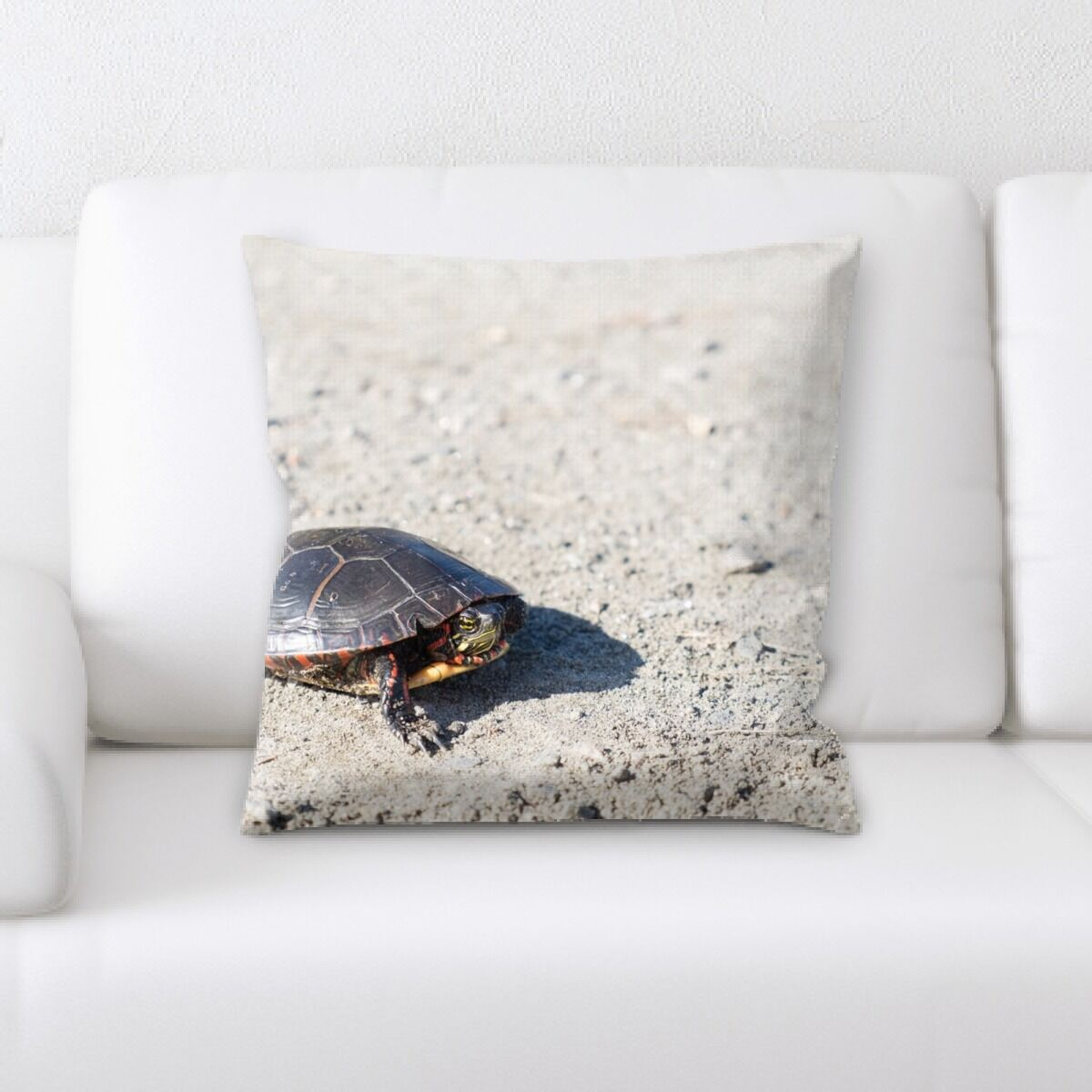 Layton Turtle (6) Throw Pillow